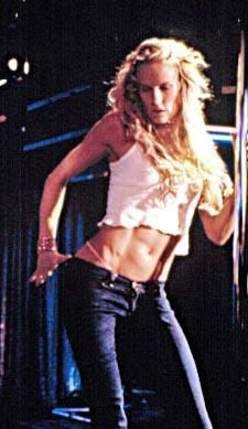 Daryl Hannah (Dancing at the Blue Iguana)